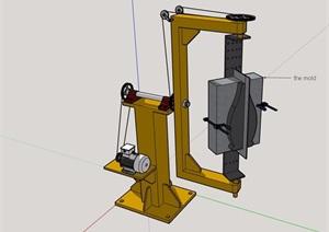 某详细电器设备素材SU(草图大师)模型