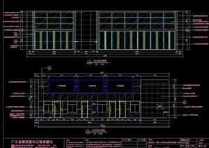 汽车站室内详细设计cad施工图