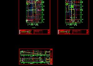 机动车坡道建筑图,详图