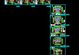 精美高层住宅公寓建筑施工图