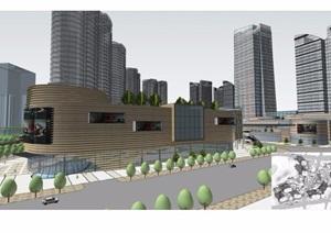 城市综合体建筑景观整体项目规划设计ppt