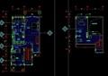 现代风格高尔夫别墅样板间B型设计cad施工图