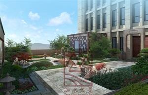 黃山市XX樓頂別墅景觀