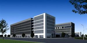 多層現代辦公樓建筑設計