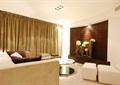 某现代详细的室内样板房设计cad施工图及实景