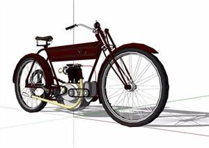机车摩托车素材SU(草图大师)模型
