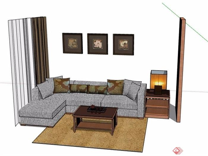 家具组合客厅