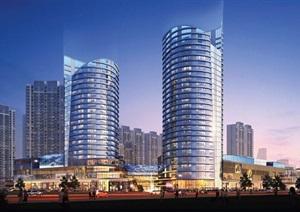 某現代商業綜合體項目建筑規劃設計pdf方案