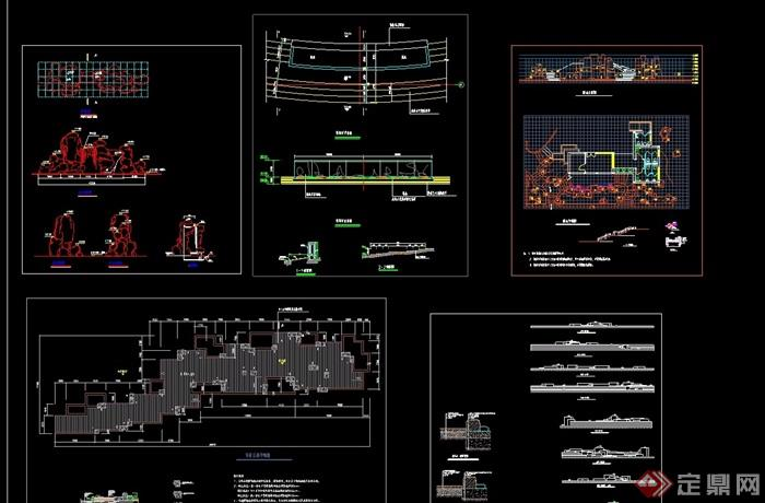 假山CAD合集CAD分什么风管软件节用图片