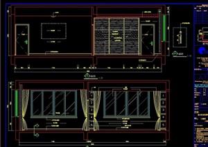 中式5层独立别墅室内设计cad施工图
