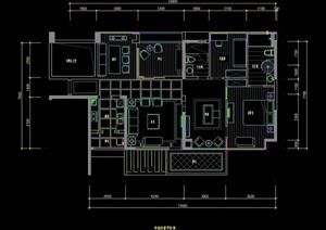 某住宅室內設計cad施工圖