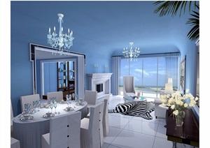 某現代詳細的室內住宅空間設計cad施工圖
