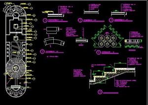 花园绿化景观设计施工图