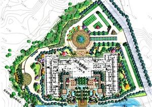 某高尔夫商务酒店景观施工图设计
