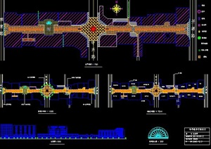 步行街设计规划图