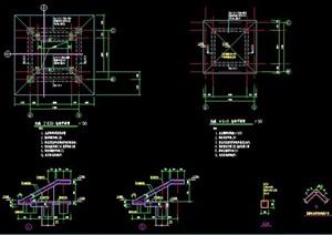 亲水平台结构图纸