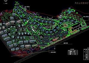 某住宅详细小区规划设计cad方案