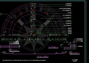 某现代中心广场环境设计cad施工图