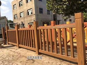 """新农村""""水泥仿木栏杆""""特点""""广东仿木水泥护栏"""
