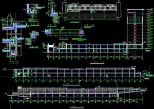 地下商场及宾馆建筑设计施工图