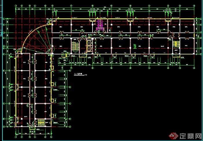 现代简约6层底商住宅楼建筑设计