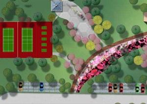 江汉运河管理处景观总体规划平面图