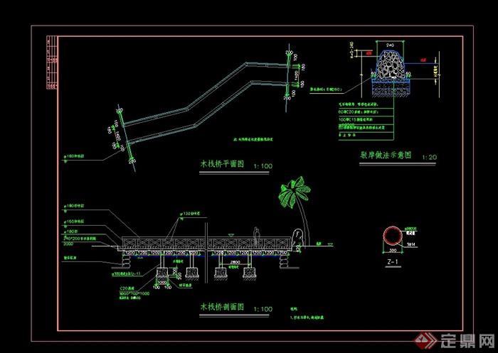 木绩效考核cad施工图模具设计栈桥设计内容图片
