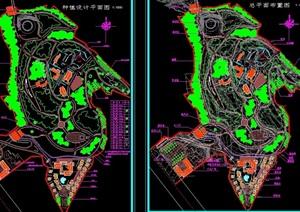 某市公园规划设计cad方案