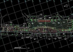 某市橋南公園設計cad施工圖