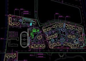 某改造住宅景觀設計cad總圖