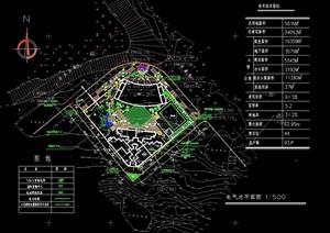 某詳細交通局辦公環境cad方案圖