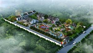 山東碑廓鎮某項目小景觀規劃