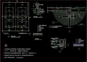 网球场详细设计cad施工图