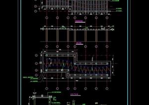 木質花架詳細設計cad施工圖