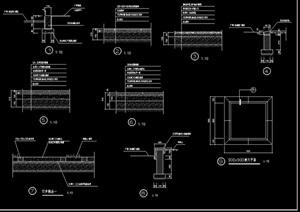 某详细的汀步设计cad施工图