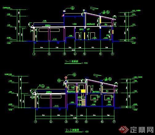 新中式公厕及垃圾站建筑设计地图平鲁图纸县图纸图片