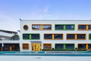 乐菲儿幼儿园—工厂改造幼儿园设计装修图