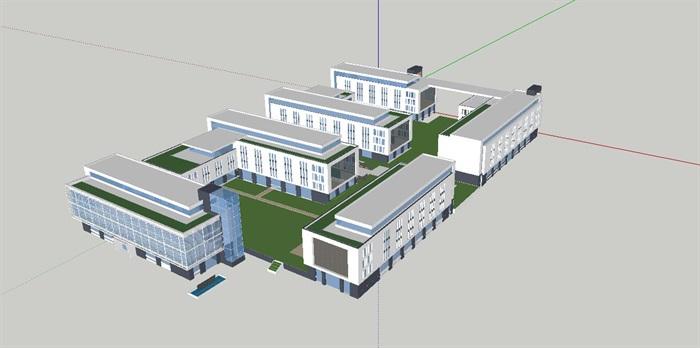 现代厂区办公园区规划生产厂房设计[原创]图片