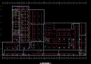 某人民医院教学及员工宿舍建筑电气竣工图纸
