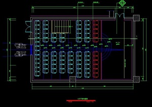 某国际电影院室内装修设计方案图纸