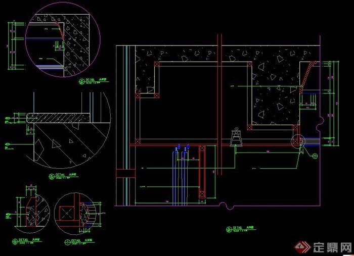五星级标准客房室内设计施工图