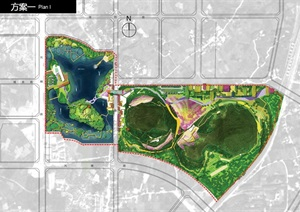 柳州芭公塘湿地公园景观及建筑设计