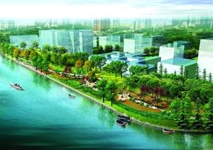 某河道景观绿化设计方案