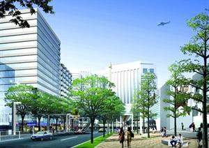 城市某主干道设计规划