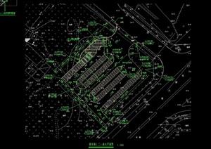 某停车场设计cad方案