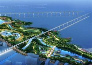 北沿滨江风光滨水带项目设计jpg方案