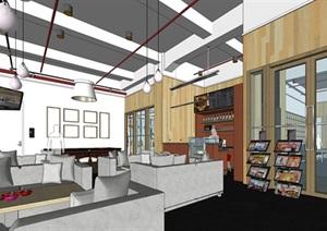 现代创意开放式办公空间办公室设计
