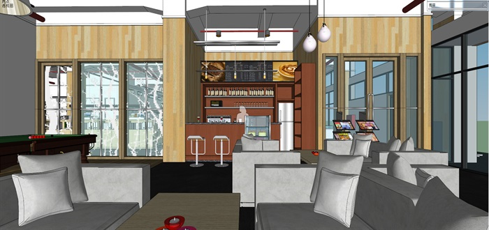 现代创意开放式办公空间办公室设计(2)