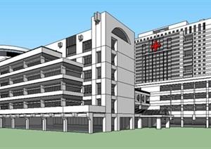 现代大型医院疗养康复中心规划设计