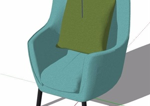 5款北欧风格家具及陈设SU(草图大师)模型
